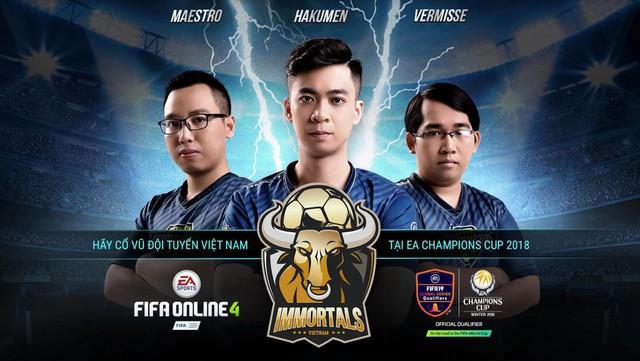 Đội tuyển Vietnam Immortals - Đội tuyển hạt giống số 1 của Việt Nam Photo-1-1541414217958255122947