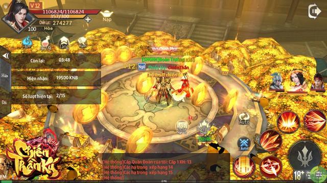 """Game """"PK cực mạnh, cày tiền cực nhanh"""": Chiến Thần Ký chính thức ra mắt, tặng 2000 Giftcode - Ảnh 2."""