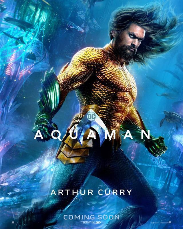 Aquaman bất ngờ tung poster mới, nhưng điều khiến người hâm mộ phấn khích lại là Mera, nữ thủy thần tóc đỏ gợi cảm - Ảnh 2.