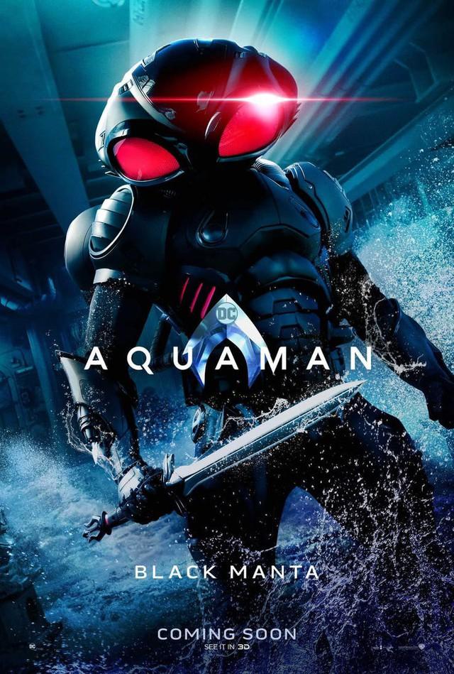 Aquaman bất ngờ tung poster mới, nhưng điều khiến người hâm mộ phấn khích lại là Mera, nữ thủy thần tóc đỏ gợi cảm - Ảnh 3.