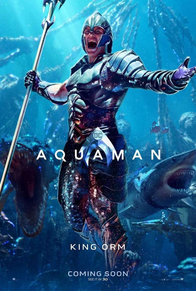 Aquaman bất ngờ tung poster mới, nhưng điều khiến người hâm mộ phấn khích lại là Mera, nữ thủy thần tóc đỏ gợi cảm - Ảnh 5.