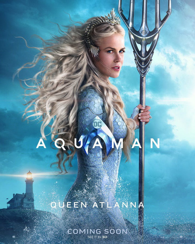 Aquaman bất ngờ tung poster mới, nhưng điều khiến người hâm mộ phấn khích lại là Mera, nữ thủy thần tóc đỏ gợi cảm - Ảnh 7.