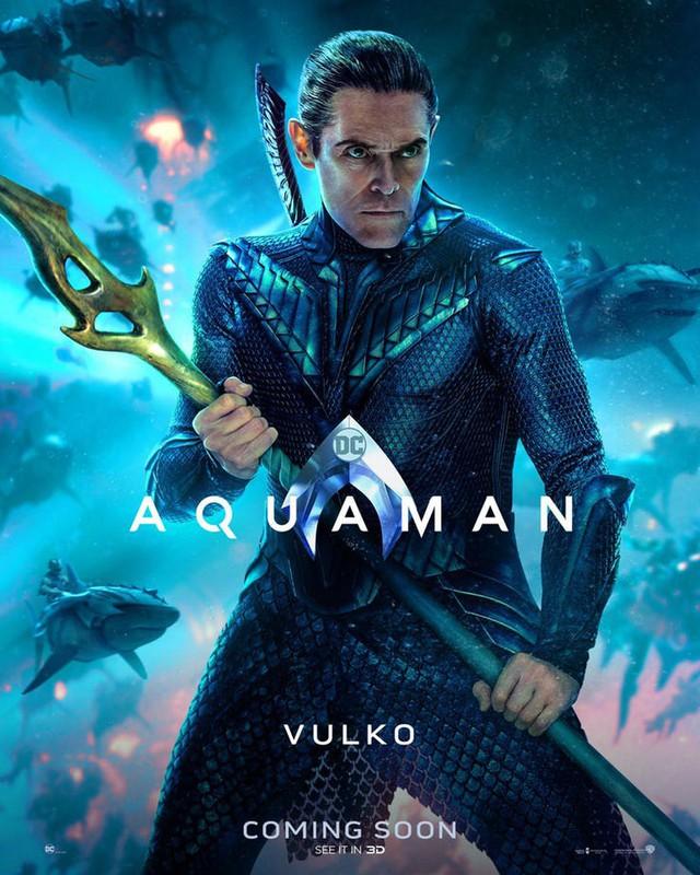 Aquaman bất ngờ tung poster mới, nhưng điều khiến người hâm mộ phấn khích lại là Mera, nữ thủy thần tóc đỏ gợi cảm - Ảnh 8.