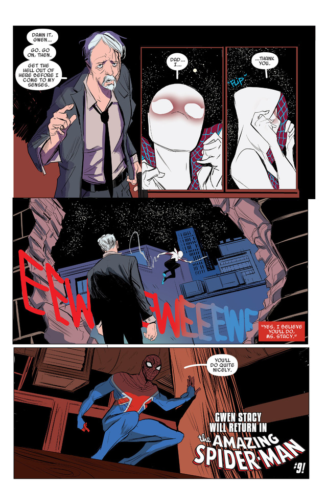 Ít người biết rằng, cô nàng xinh đẹp Spider-Gwen từng có một quá khứ đau thương khi tự tay hạ sát Peter Parker - Ảnh 5.