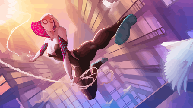 Ít người biết rằng, cô nàng xinh đẹp Spider-Gwen từng có một quá khứ đau thương khi tự tay hạ sát Peter Parker - Ảnh 1.