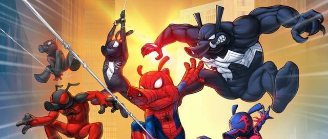 Khám phá sự thật thú vị về Spider-Ham, chú Nhện đáng yêu xuất hiện trong Spider-Man: Into the Spider-Verse - Ảnh 8.