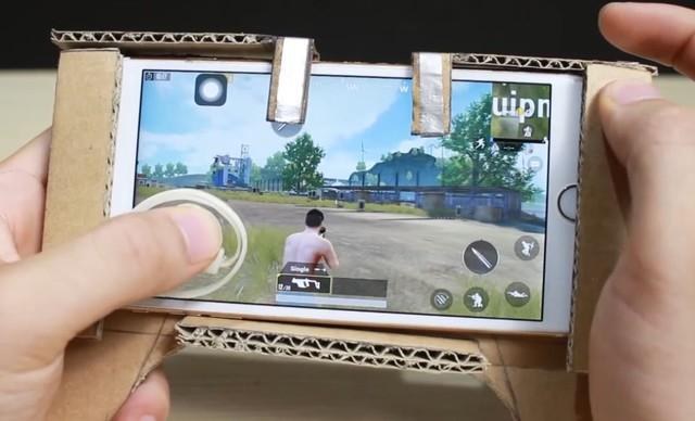 Hướng dẫn game thủ tự làm gamepad cho điện thoại bằng bìa cứng, chơi ngon PUBG Mobile mà không tốn tiền - Ảnh 3.