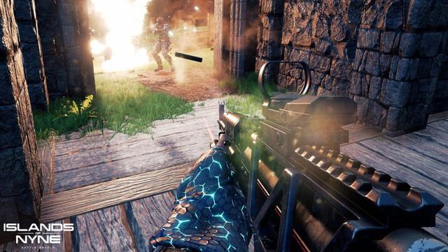 Islands of Nyne - Game Battle Royale đẹp ngất ngây từng vượt mặt PUBG mới mở cửa hoàn toàn miễn phí - Ảnh 4.