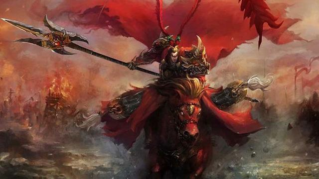 Ngắm tạo hình siêu ngầu của chiến thần Lữ Bố trong Loạn Thế Hồng Nhan - Ảnh 1.