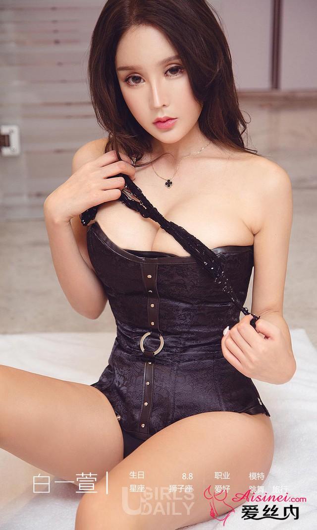 Mất máu đầu tuần với bộ ảnh không thể gợi cảm hơn của Miss Perfect Bai Yizhen - Ảnh 1.