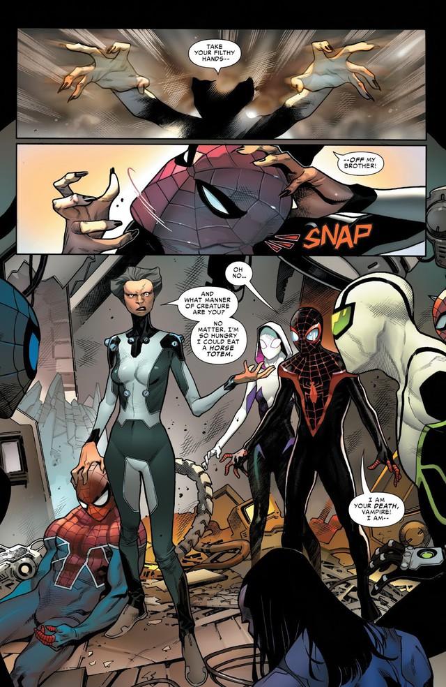 Sau tất cả, đây chính là phiên bản mạnh nhất của Người Nhện và danh tính của siêu anh hùng này sẽ khiến bạn ngạc nhiên - Ảnh 2.