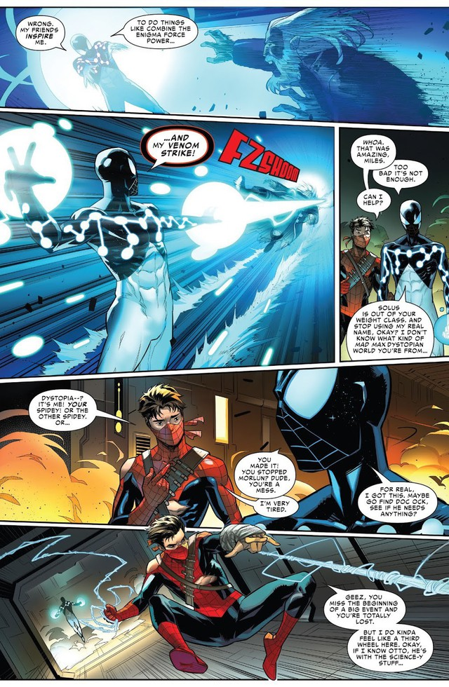 Sau tất cả, đây chính là phiên bản mạnh nhất của Người Nhện và danh tính của siêu anh hùng này sẽ khiến bạn ngạc nhiên - Ảnh 5.