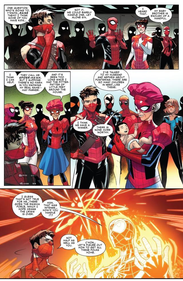 Sau tất cả, đây chính là phiên bản mạnh nhất của Người Nhện và danh tính của siêu anh hùng này sẽ khiến bạn ngạc nhiên - Ảnh 8.