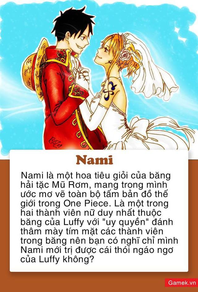 One Piece: 5 mỹ nhân xinh đẹp được fan dự đoán sẽ trở thành vợ của Luffy, Vua Hải Tặc trong tương lai - Ảnh 4.