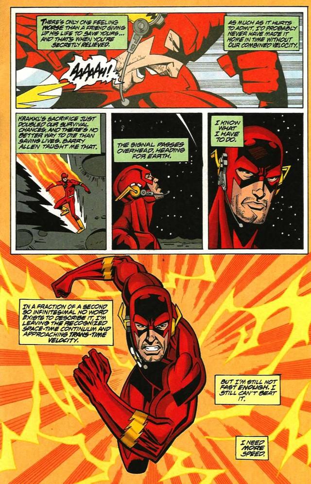 5 phiên bản mạnh mẽ và quyền năng nhất mọi thời đại của siêu anh hùng The Flash - Ảnh 2.