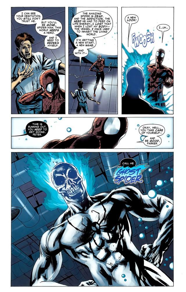 Spirit Spider, phiên bản siêu mạnh của Người Nhện có thể đánh bại Thanos liệu có xuất hiện trong Avengers: Endgame? - Ảnh 8.