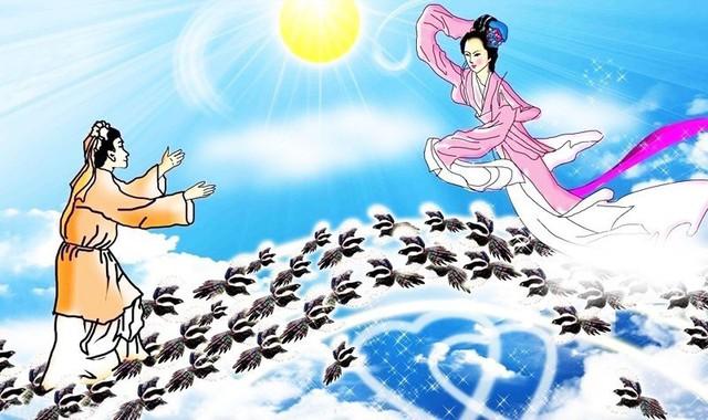 Cặp đôi trong truyền thuyết của Trung Quốc mỗi năm chỉ được gặp nhau một lần