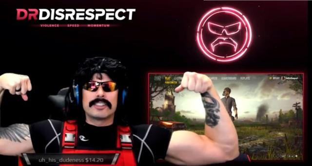 Màn trở lại hoành tráng của Dr. Disrespect
