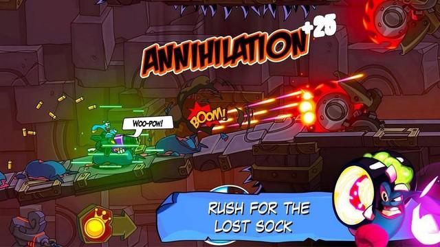 Tải ngay Lost Socks: Naughty Brothers - Game hành động pha trồn nhiều thể loại cực vui nhộn