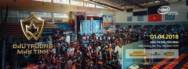 Intel giới thiệu sự kiện Đấu Trường Máy Tính mùa 3 với giải đấu PUBG khủng nhất Việt Nam, tổng giải thưởng 120 triệu Đồng