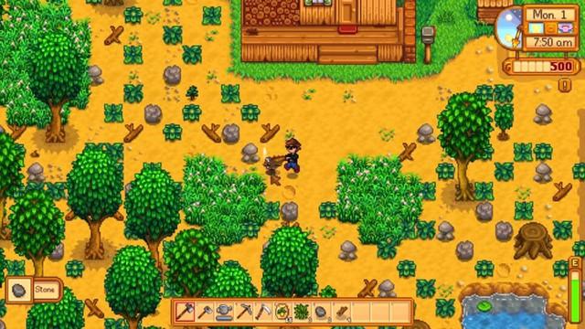 Công việc hàng ngày của một nông dân đích thực