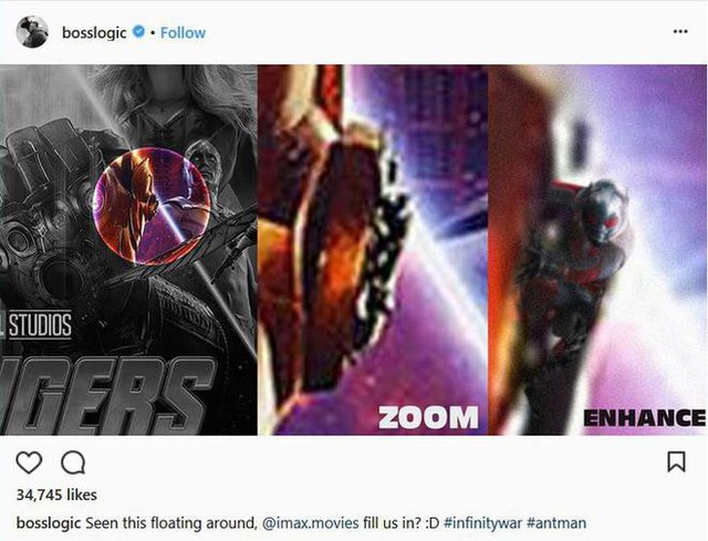 Đố bạn tìm ra anh chàng Người Kiến trong poster mới nhất của Avengers: Infinity War đấy!