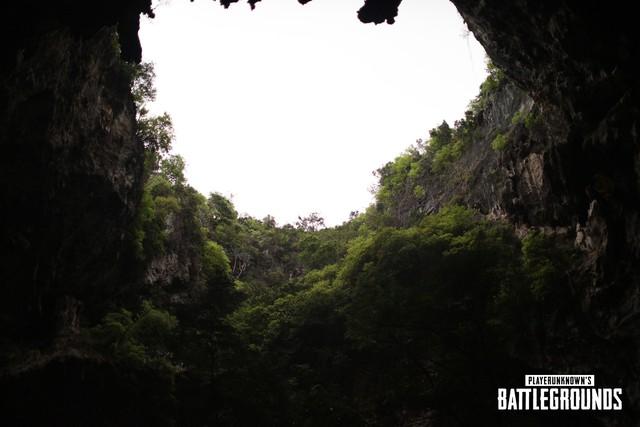 Hình ảnh về map mới Savage trong PUBG, trông giống hệt hang Sơn Đoòng tại Việt Nam