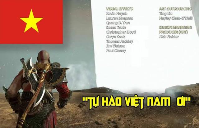 Tự hào khi đội ngũ phát triển God of War có 2 lập trình viên người Việt