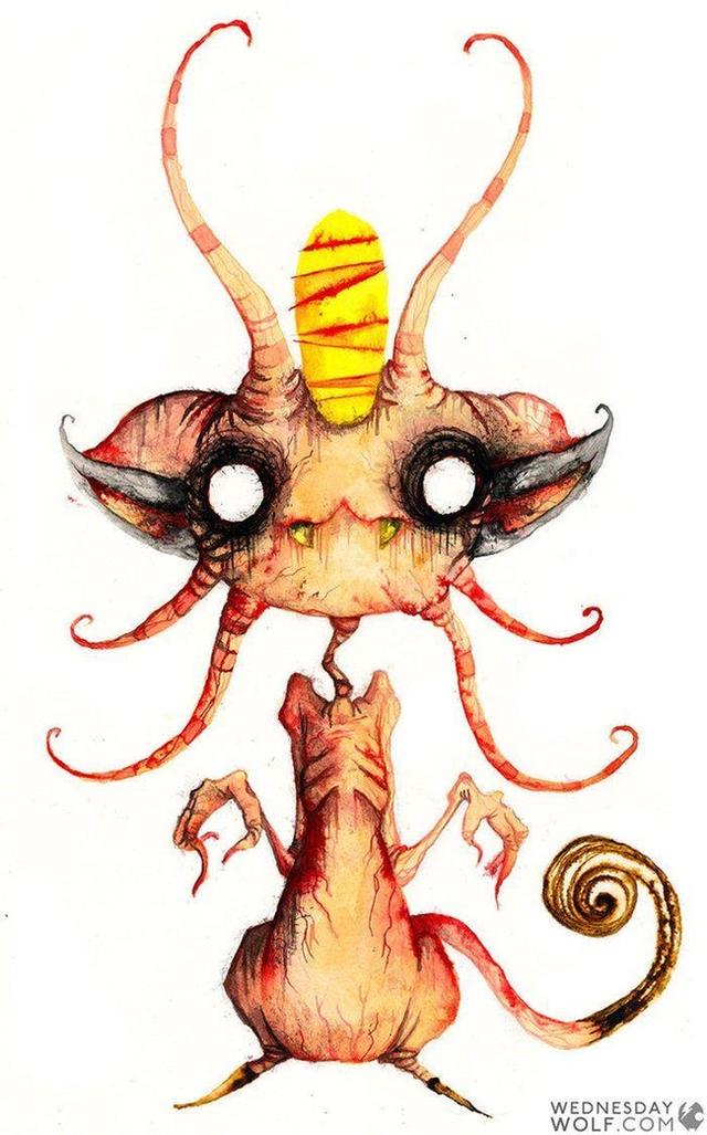Ngắm chân dung các loài Pokemon được vẽ theo phong cách kinh dị, số 4 khiến fan IT khiếp vía - Ảnh 5.