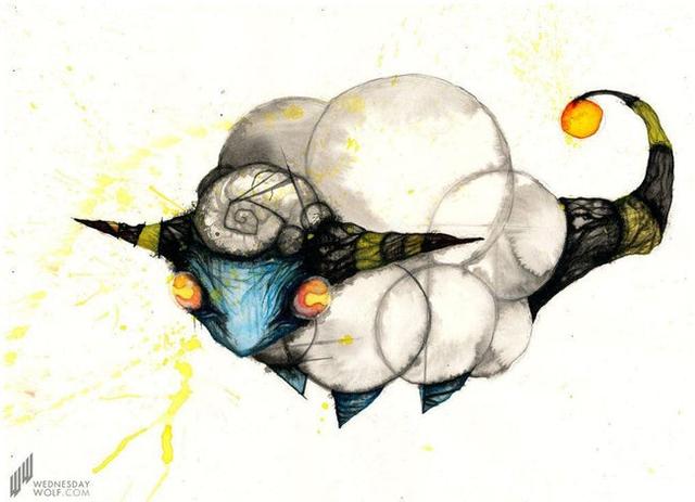 Ngắm chân dung các loài Pokemon được vẽ theo phong cách kinh dị, số 4 khiến fan IT khiếp vía - Ảnh 8.