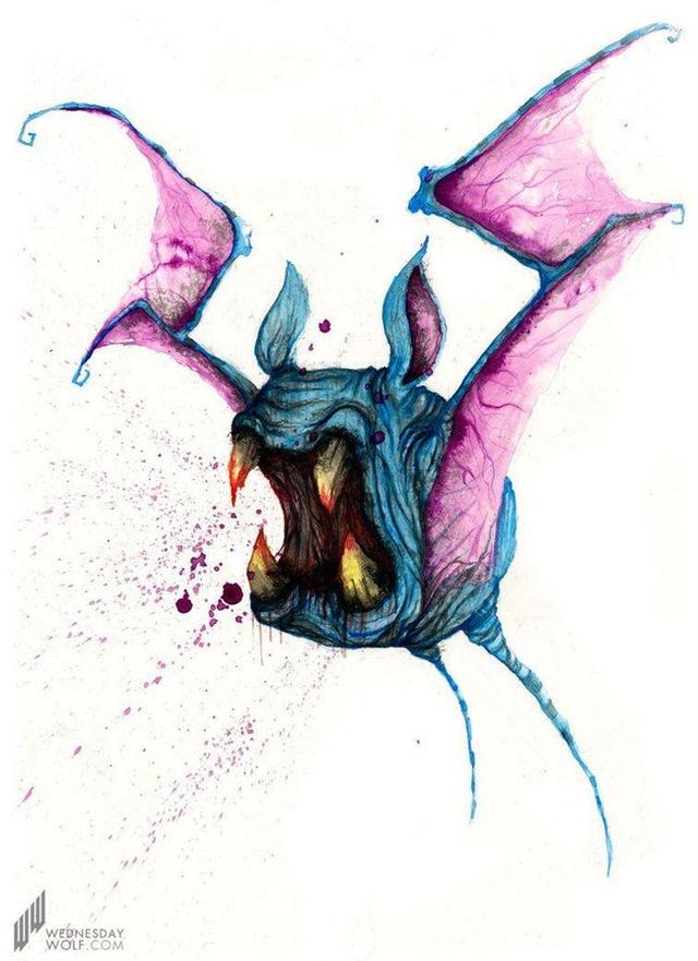 Ngắm chân dung các loài Pokemon được vẽ theo phong cách kinh dị, số 4 khiến fan IT khiếp vía - Ảnh 9.