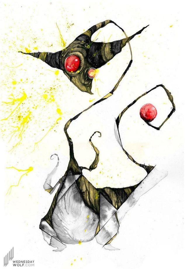 Ngắm chân dung các loài Pokemon được vẽ theo phong cách kinh dị, số 4 khiến fan IT khiếp vía - Ảnh 10.