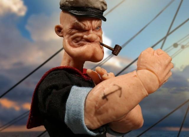 Nhân vật thủy thủ Popeye xuất hiện lần đầu tiên vào tháng 1/1929 trong bộ truyện tranh Thimble Theatre.
