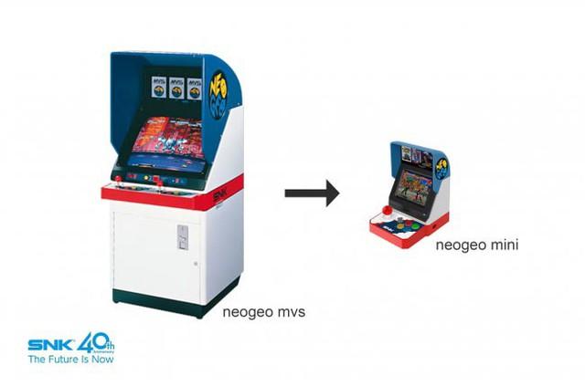 Độc đáo: Máy chơi game thùng to đùng thời xưa giờ gọn lỏn trong bàn tay mang tên Neo Geo Mini