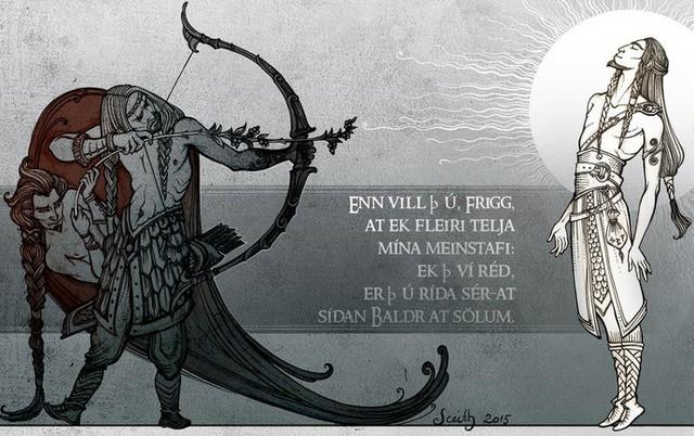 Loki, kẻ chủ mưu cho cái chết của Baldur, một trong 3 dấu hiệu dẫn đến tận thế Ragnarok.