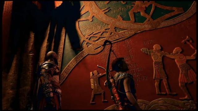 Việc hai cha con Kratos tiêu diệt Baldur đã được dự báo từ trước