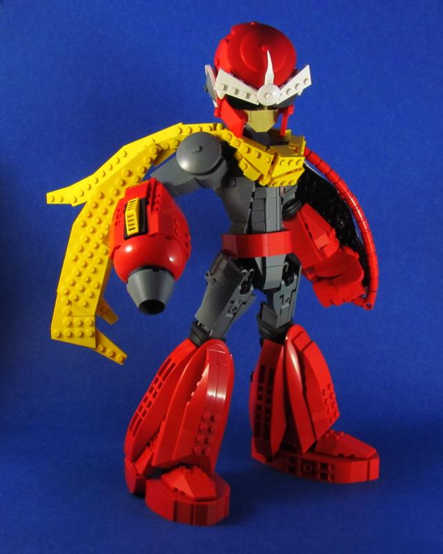 Ngắm chân dung các nhân vật nổi tiếng được làm từ đồ chơi LEGO cực ấn tượng - Ảnh 9.