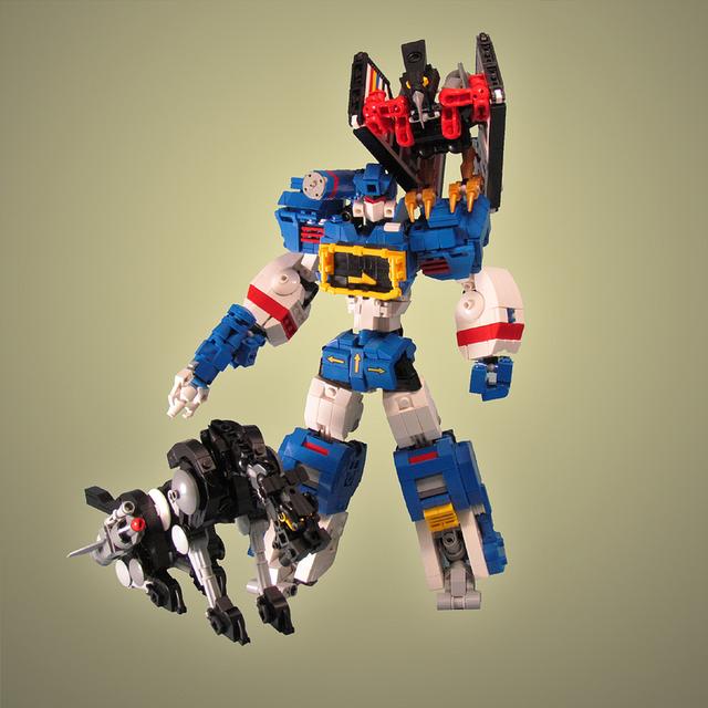 Ngắm chân dung các nhân vật nổi tiếng được làm từ đồ chơi LEGO cực ấn tượng - Ảnh 10.