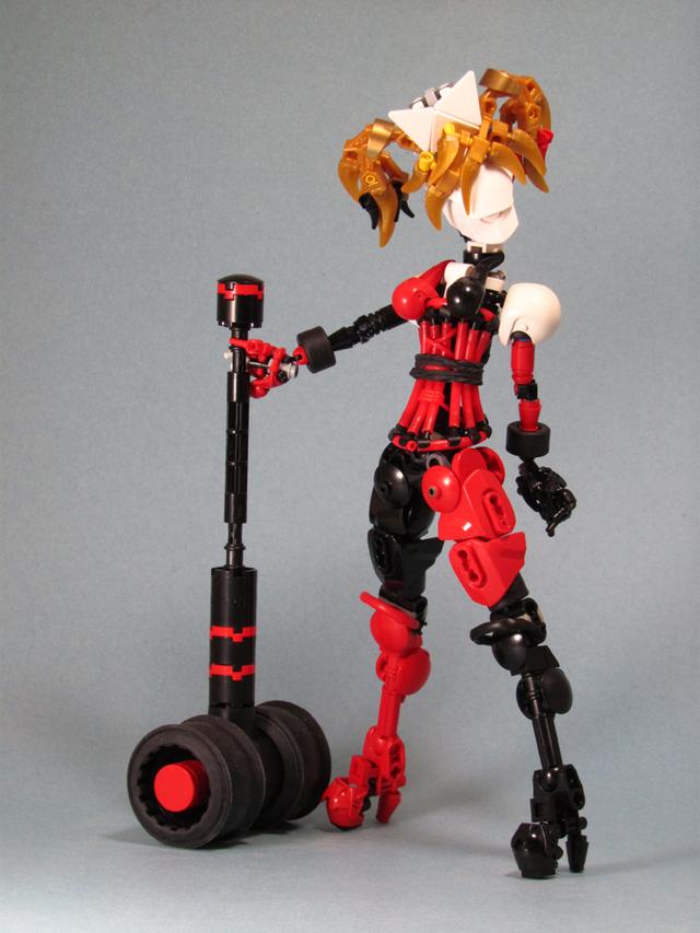 Ngắm chân dung các nhân vật nổi tiếng được làm từ đồ chơi LEGO cực ấn tượng - Ảnh 11.