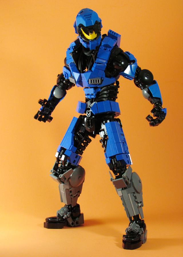 Ngắm chân dung các nhân vật nổi tiếng được làm từ đồ chơi LEGO cực ấn tượng - Ảnh 12.