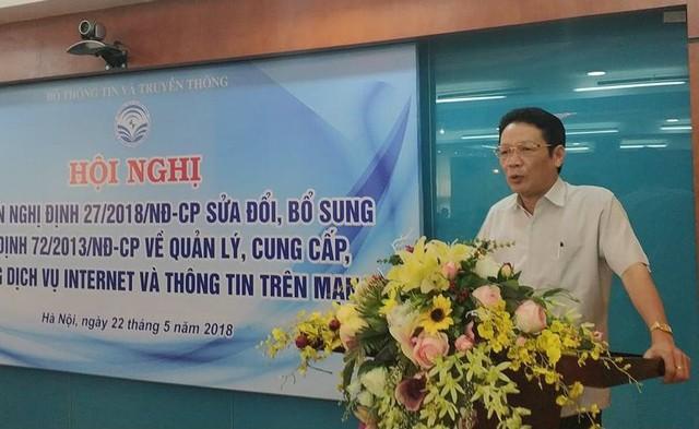 Thứ trưởng Bộ TT&TT Hoàng Vĩnh Bảo