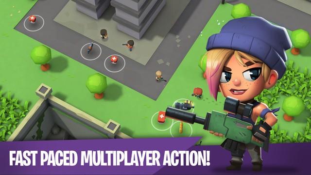 Tải ngay Battlelands Royale - PUBG Mobile phiên bản mini cực vui nhộn và hài hước - Ảnh 3.