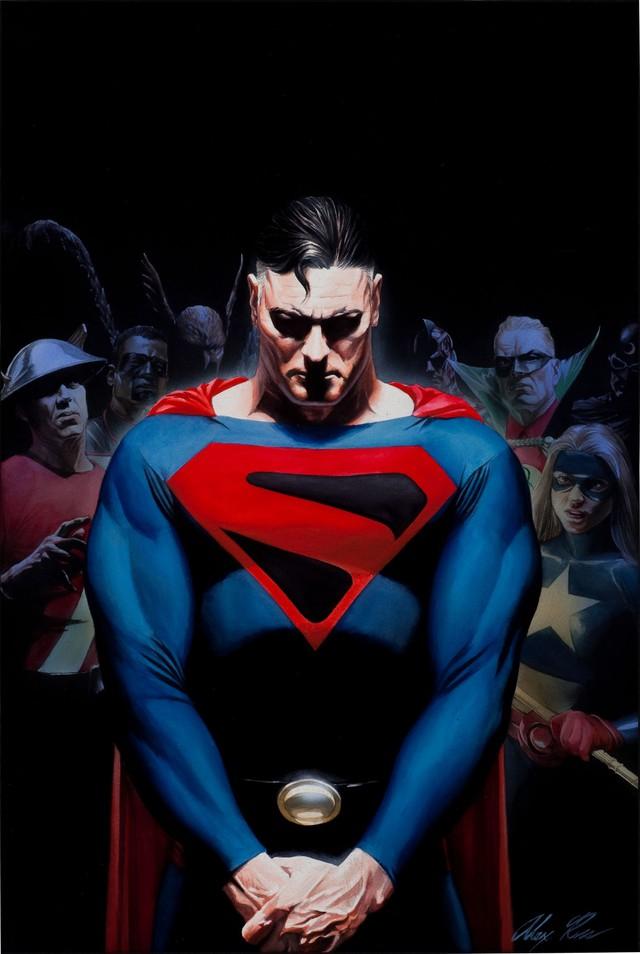 Những tạo hình nhân vật đẹp nhất trong thế giới truyện tranh Comics (Phần 1)