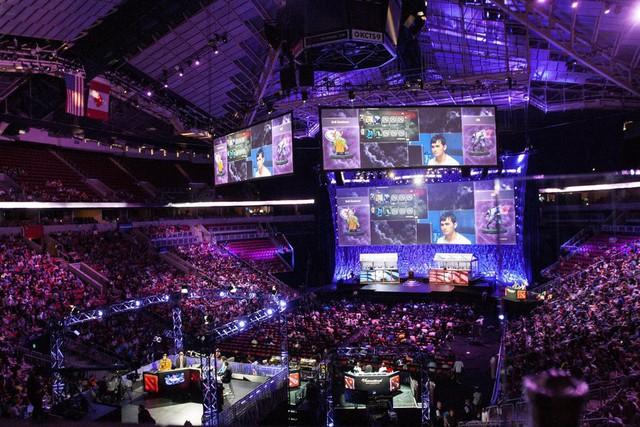 Các khán đài của Key Arena luôn kín như bưng tại mọi mùa giải The International