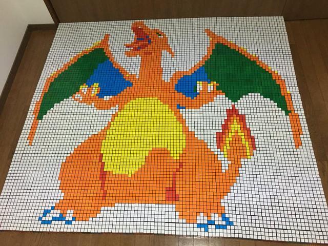Hâm mộ Pokemon, fan ruột mua đến cả ngàn khối rubik về để xếp hình thành tranh cho đã mắt - Ảnh 7.