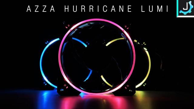 Quạt tản nhiệt AZZA Hurricane RGB - Dành cho game thủ nổi loạn - Ảnh 1.