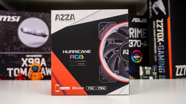 Quạt tản nhiệt AZZA Hurricane RGB - Dành cho game thủ nổi loạn - Ảnh 2.
