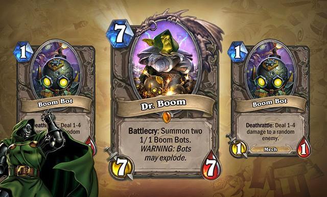 Blizzard công bố Expansion mới của HearthStone với sự trở lại của huyền thoại Dr.Booms - Ảnh 4.