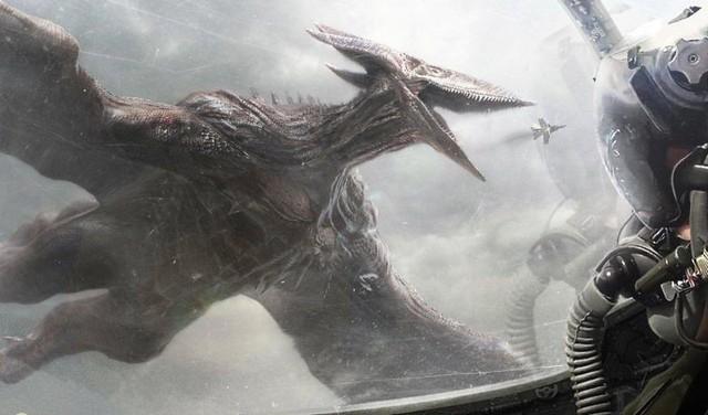 Điểm mặt 4 Kaiju vĩ đại xuất hiện trong Trailer của Godzilla: King of the Monsters - Ảnh 4.