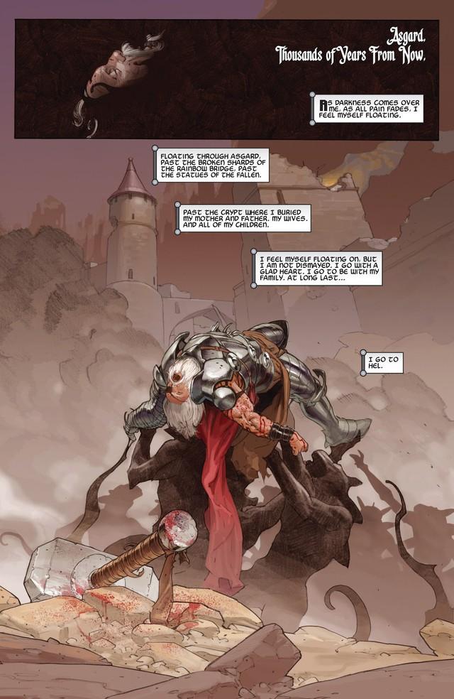 Comics Trivia: Những giai thoại về Old King Thor, vị vua quyền năng của Asgard trong tương lai - Ảnh 2.